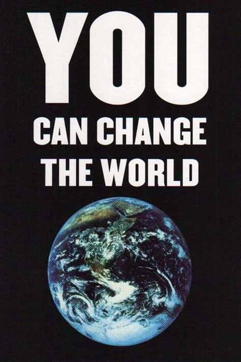 Think Different – Change the World